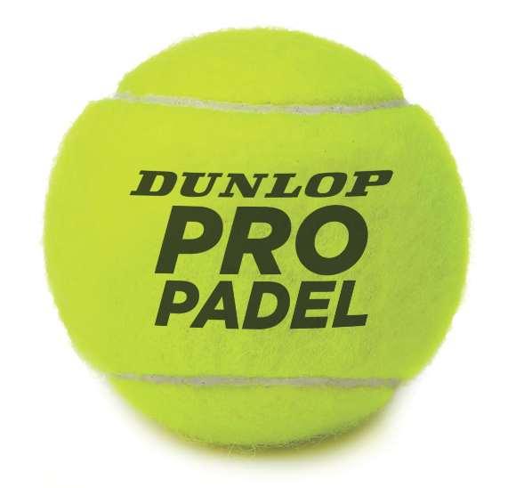 Dunlop padel pelota oficial del XIII mundial de padel