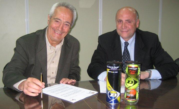 Dunlop renueva como Pelota Oficial de la Federación Española de Pádel