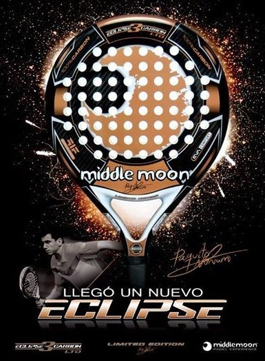 Paquito Navarro presenta su pala Eclipse 3 Carbon LTD