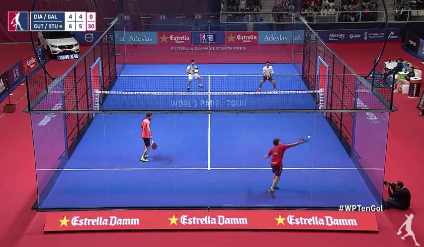 El juego mas espectacular del Estrella Damm Alicante Open 2018