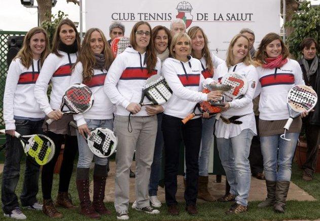 El Real Club Polo de Barcelona campeon de padel de Cataluña por equipos