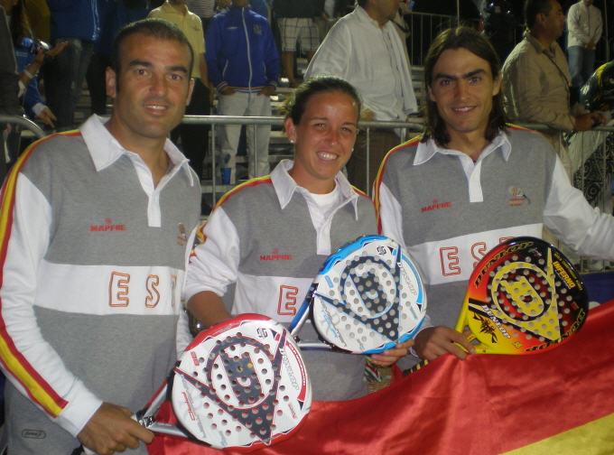El exitoso Dunlop padel Team en el Mundial de Mexico