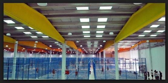 El mayor club de pádel indoor del mundo