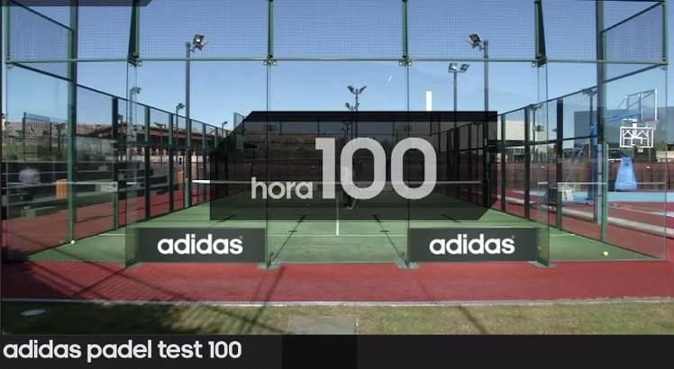 El test de las 100 horas de la palas de pádel Adidas