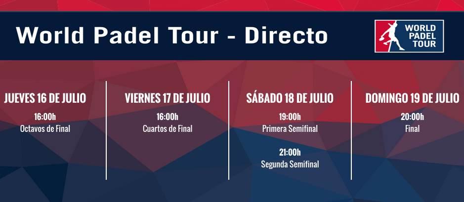 En directo World Pádel Tour Mallorca 2015