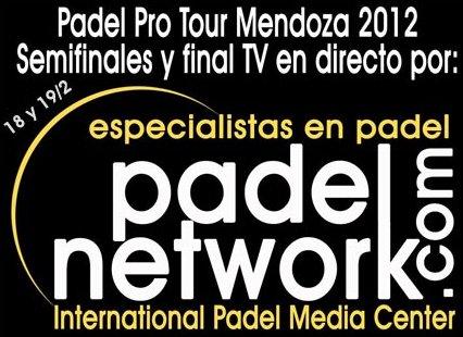 En directo las semifinales y final del Padel pro Tour de Mendoza 2012