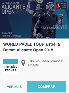 Entradas World Padel Tour Alicante
