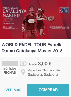 Entradas World Padel Tour Barcelona