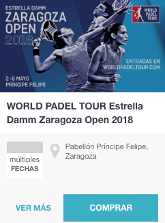 Entradas World Padel Tour zaragoza