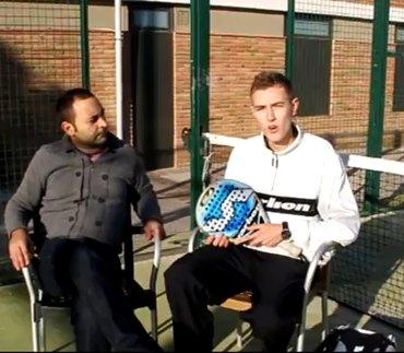 Entrevista al campeon de Catalunya de Padel