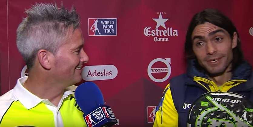 Entrevistas presentación World Padel Tour 2016