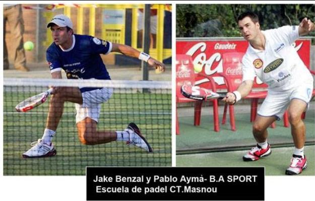 Escuela de padel B A Sport en el Club de tenis Masnou