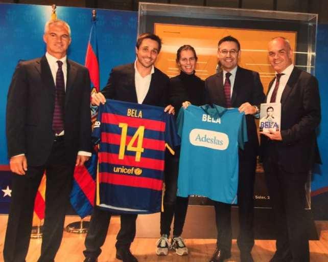 Fernando Belasteguin y el Barça