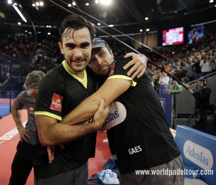 Fernando Belasteguin y Pablo Lima master 2018