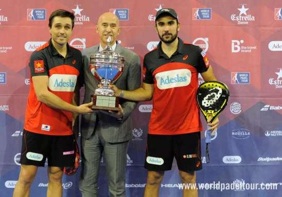 Fernando Belasteguin y Pablo Lima vencen en Zaragoza
