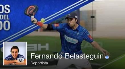 Fernando Belasteguin llega a 50.000 seguidores con un concur