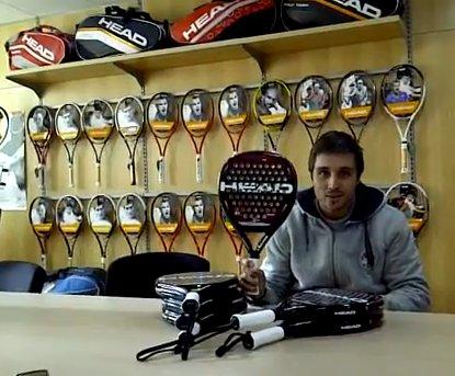 Fernando Belasteguin presenta su nueva pala 2012