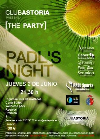 Fiesta Bienvenina Padel Pro Tour en Barcelona