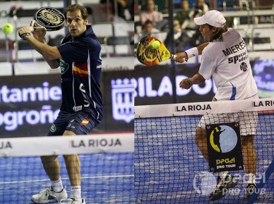 Final Padel Pro Tour Logrono 2010. Diaz-Belasteguin y Lima-Mieres