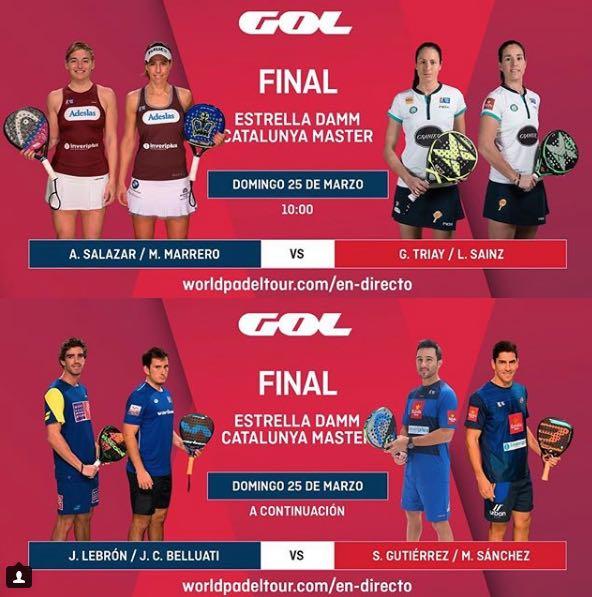 Finales del Estrella Damm Catalunya Master 2018