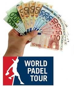 Ganancias de los 25 primeros Jugadores de World Pádel Tour