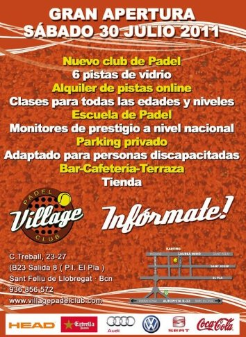 Gran Apertura Village Padel Club