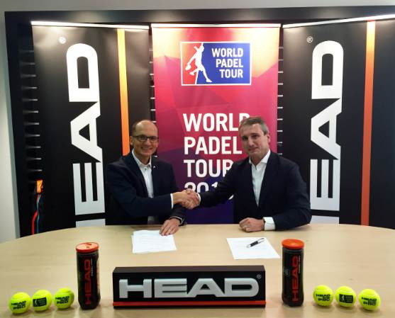 Pelota Head padel World Padel Tour