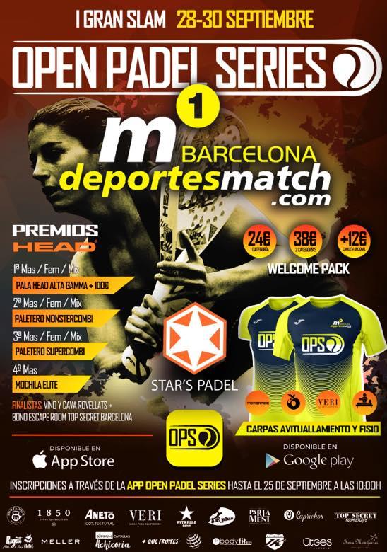 I Gran Slam m1 Barcelona Deportes Match