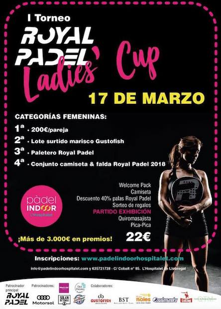 I Torneo Royal Padel Ladies