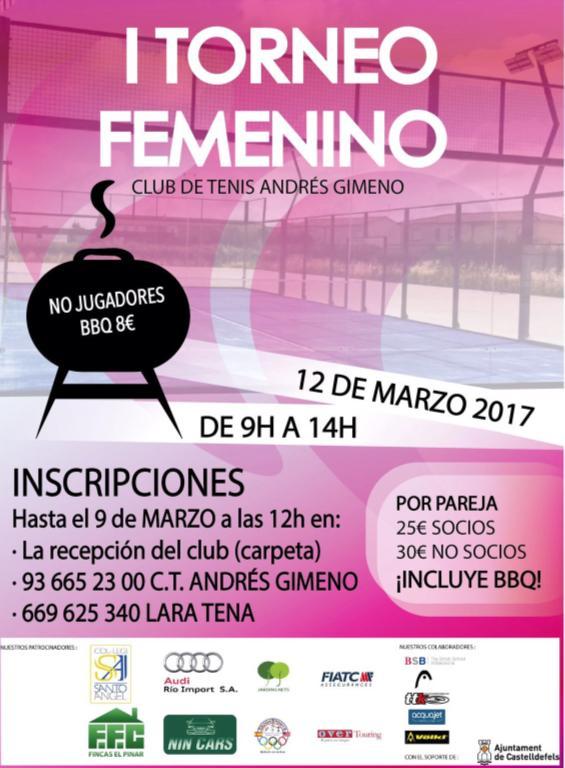 I torneo Femenino Club Tenis Andrés Gimeno