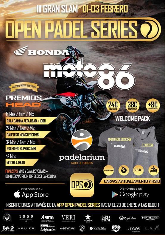 III Gran Slam OPS Moto86 Honda