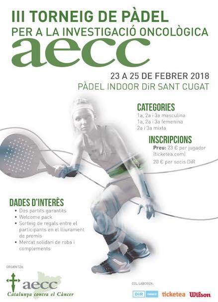 III Torneo de Padel per a la Investigación Oncólogica AECC