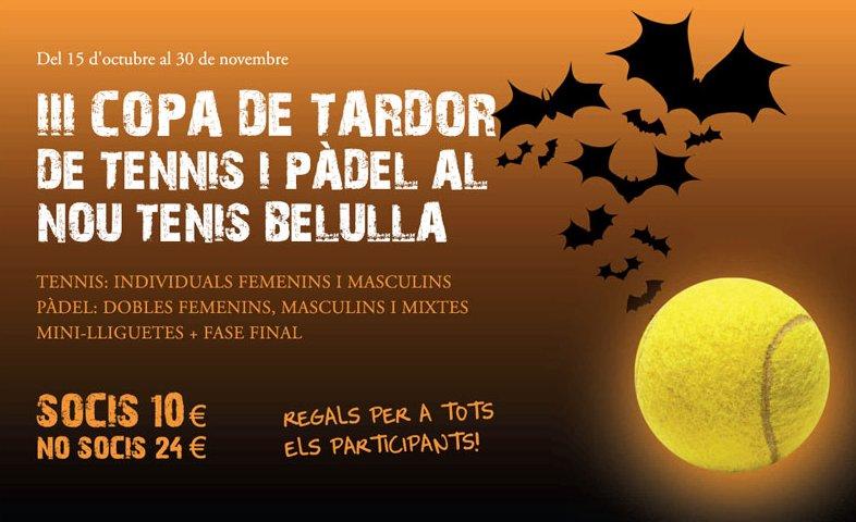 III Copa de Tardor de Tennis y Padel