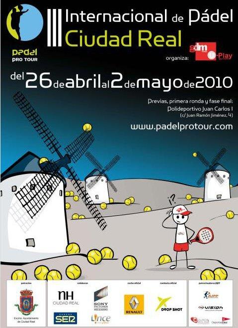 Pádel Pro tour 2010 III Internacional de Pádel de Ciudad Real