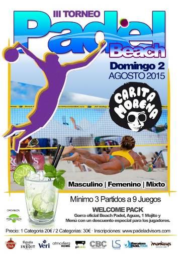 III Torneo Padel Beach Carita Morena
