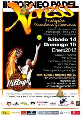 III Torneo Xpress Village Padel Club