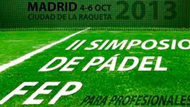 II Simposio de pádel Federación Española de pádel