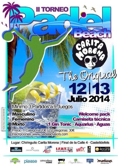 II Torneo Padel Beach Carita Morena