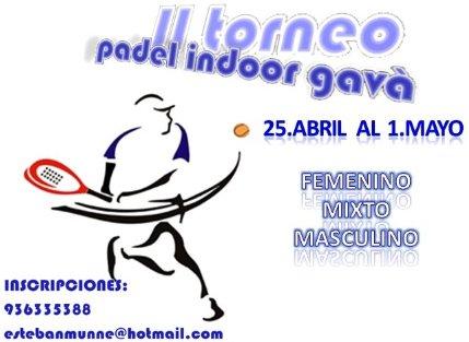 II Torneo Padel Indoor Gava