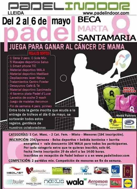II Torneo de Padel Benefico en el Padel Indoor Lleida