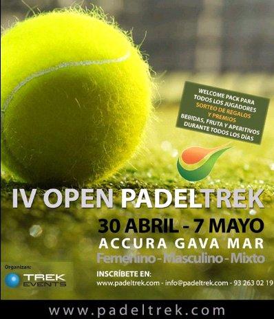 IV Open PadelTrek en Accura Gava