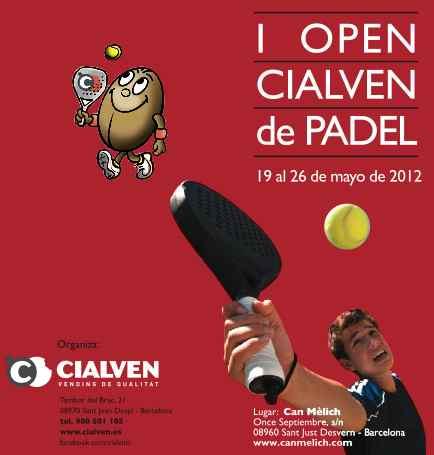 I Open Cialven de Padel en Can Melich