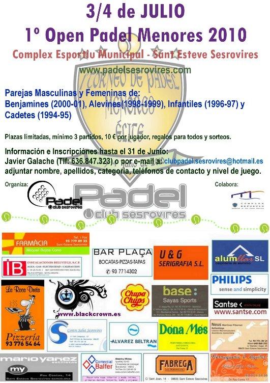 I_Open_de_padel_Menores_en_el_club_Sant_Esteve_Sesrovires
