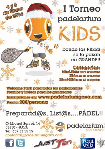 I Torneo Padelarium Kids