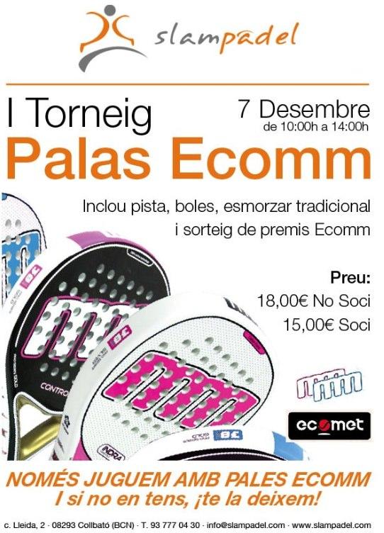 I Torneo Palas Ecomm Slampadel
