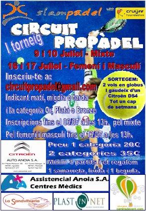 I Torneo de padel Circuito Propadel