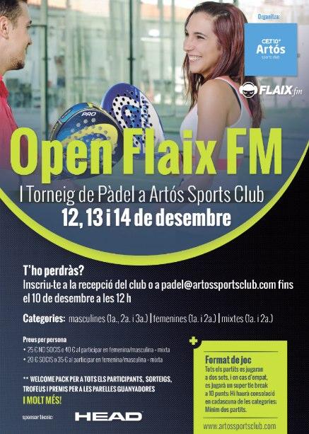 I Torneo de pádel Flaix FM