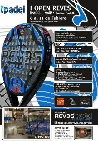I Torneo de padel Open Reves en el ipadel
