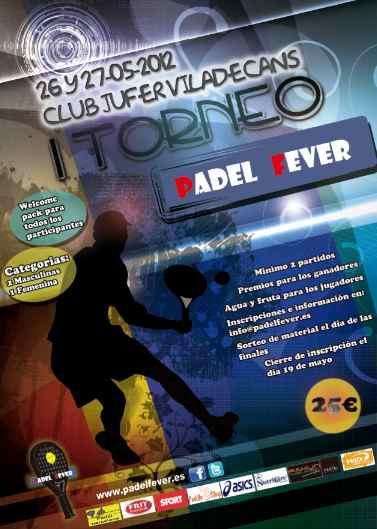 I Torneo padel Fever en el Jufer Viladecans