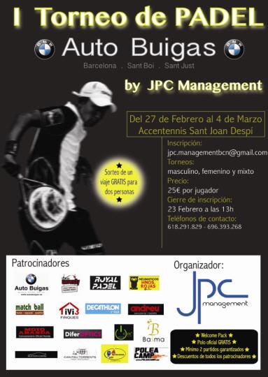 I torneo de padel de JPC Management